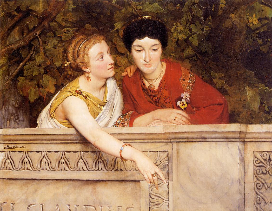 Alma Tadema Gallo Roman Women